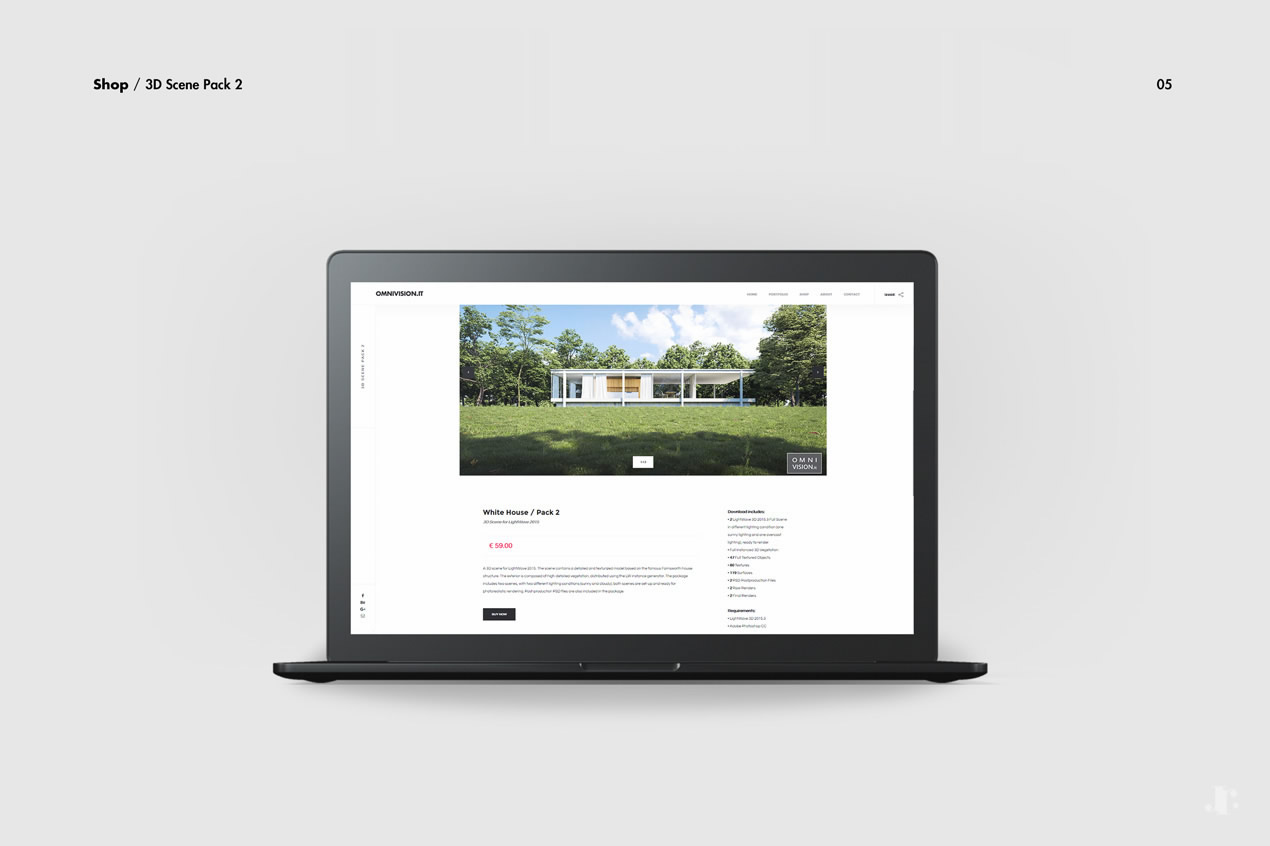 Omnivision - Web Design Project - Johanna Roussel