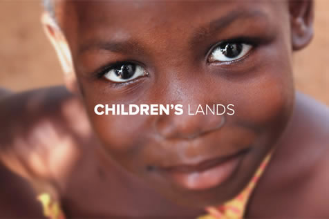 Childrens Lands - Web design by Johanna Roussel